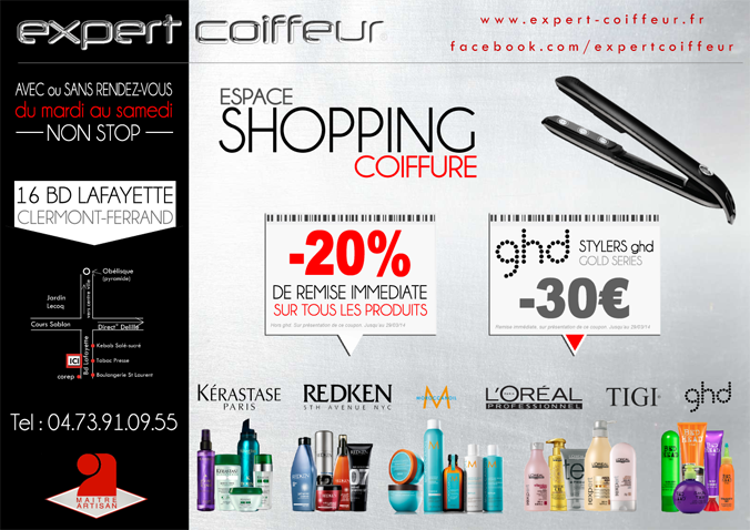 Promotions Expert Coiffeur